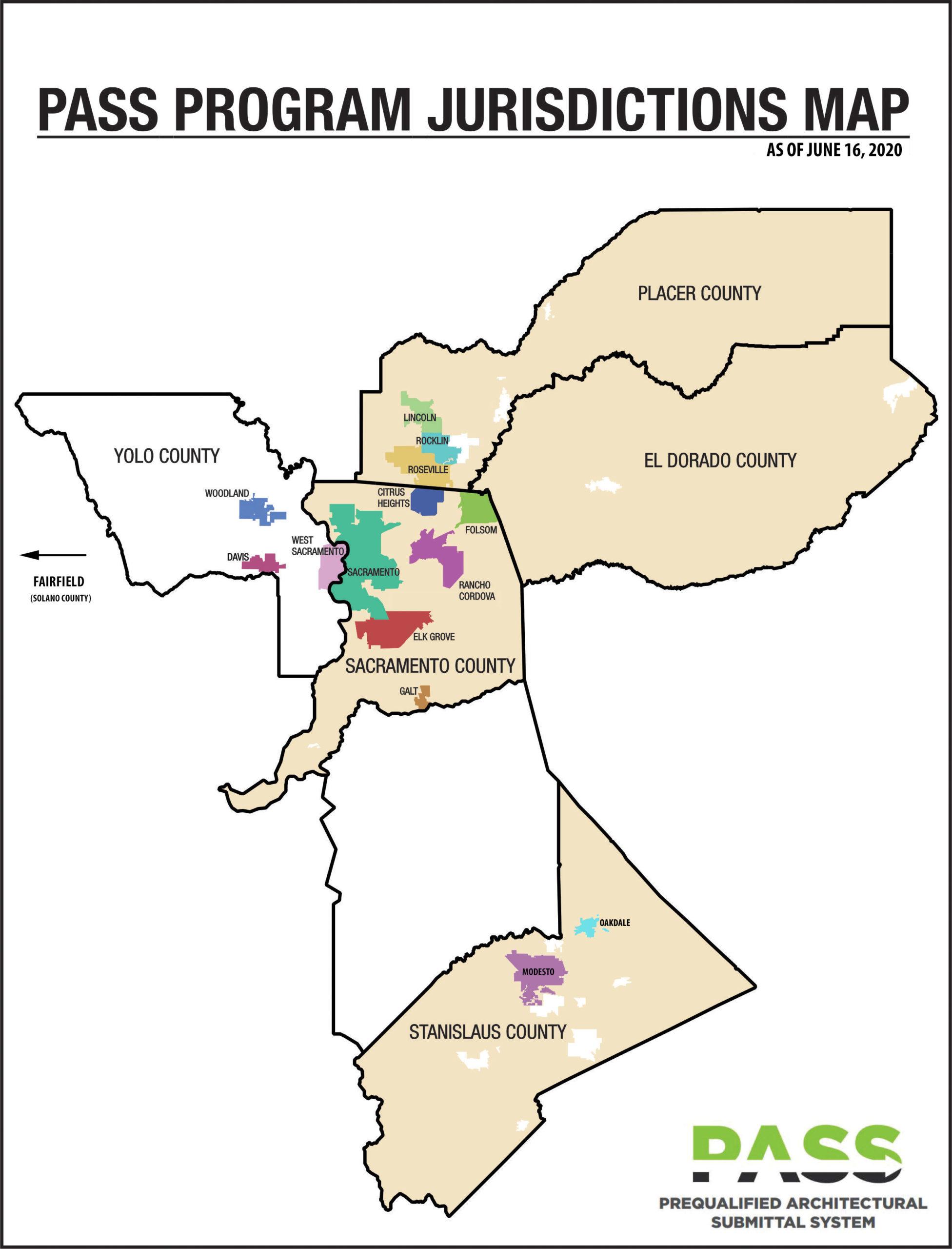 PASS Program Jurisdiction Map Website